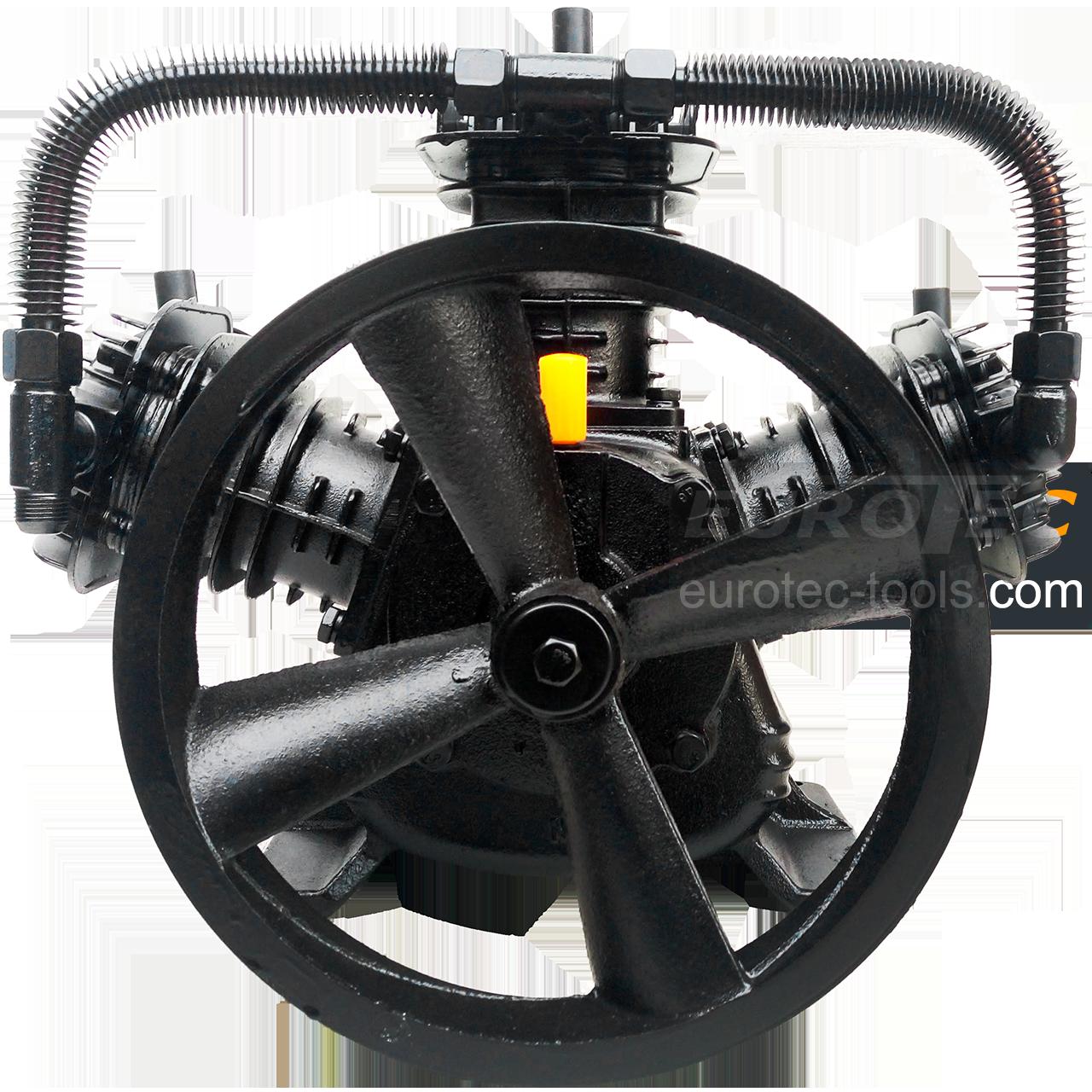 Компрессионный блок 640 л/мин трехцилиндровый 3065, 3-х цилиндровая компрессорная головка