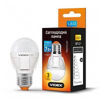 LED лампа VIDEX G45 7W E27 3000K 220V