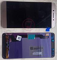 Дисплей модуль LeEco Le Pro 3 AI X650 X651 в зборі з тачскріном, золотистий