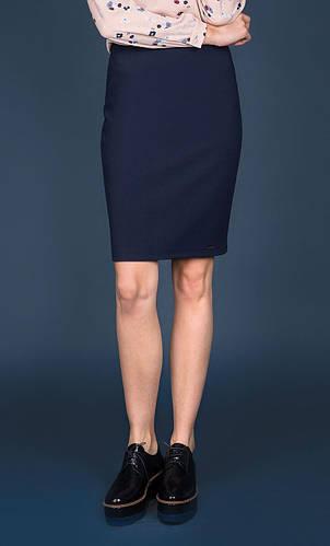936fe53eec98 Женская юбка-карандаш темно-синего цвета. Модель Dawrina Zaps. Коллекция  осень-зима ...