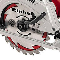 Пила дисковая электрическа Einhell TE-CS 165 (Циркулярка циркулярная паркетка), фото 3