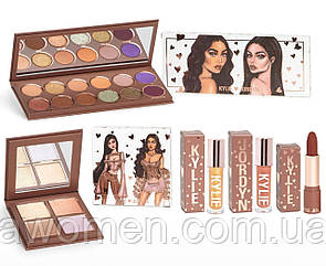 Набор для макияжа THE KYLIE X JORDYN COLLECTION BUNDLE