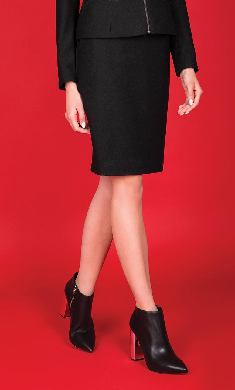 Женская юбка-карандаш черного цвета. Модель Donori Zaps. Коллекция осень-зима