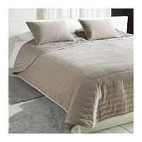 PENNINGBLAD  Покрывало и 2 чехла на подушку, серый, фото 1