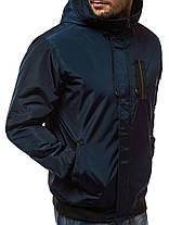 Мужская зимняя куртка J.Style синего цвета, фото 2