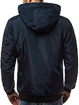 Мужская зимняя куртка J.Style синего цвета, фото 3