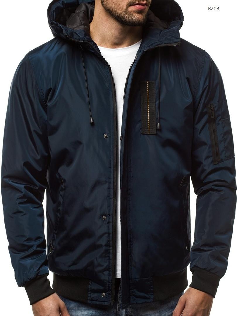 Мужская зимняя куртка J.Style синего цвета