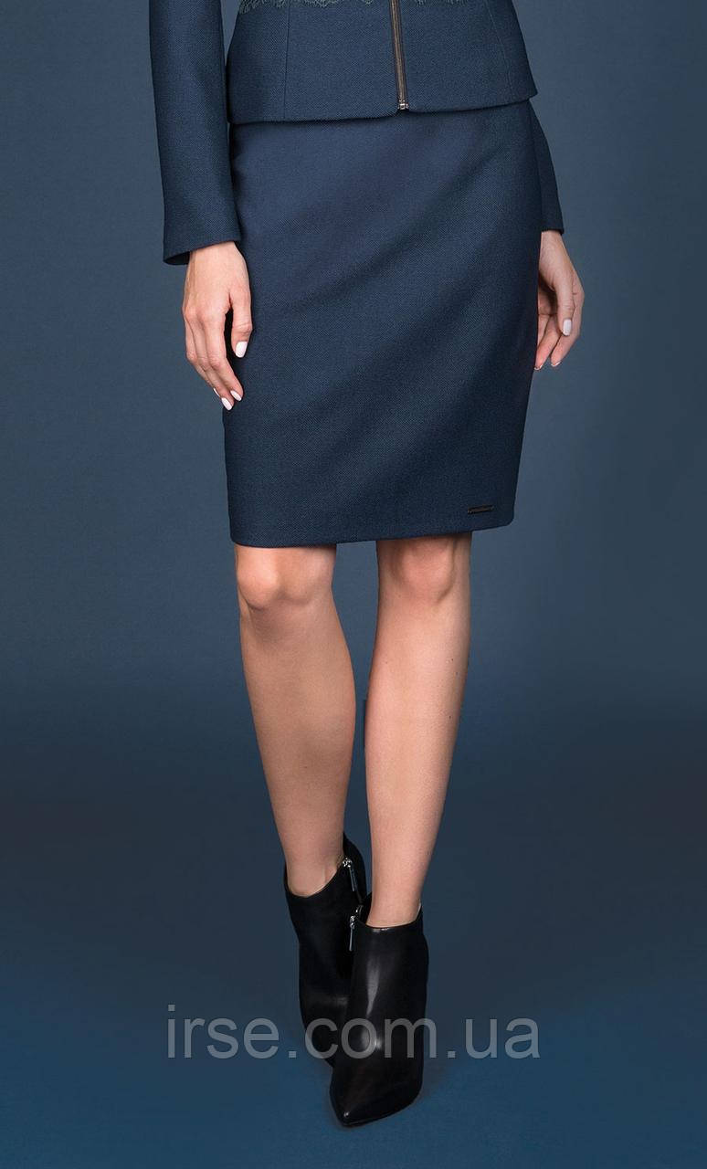 Женская юбка-карандаш изумрудного цвета. Модель Donori Zaps. Коллекция осень-зима