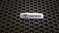 Шильдик, логотип DAEWOO для автомобильного ковра