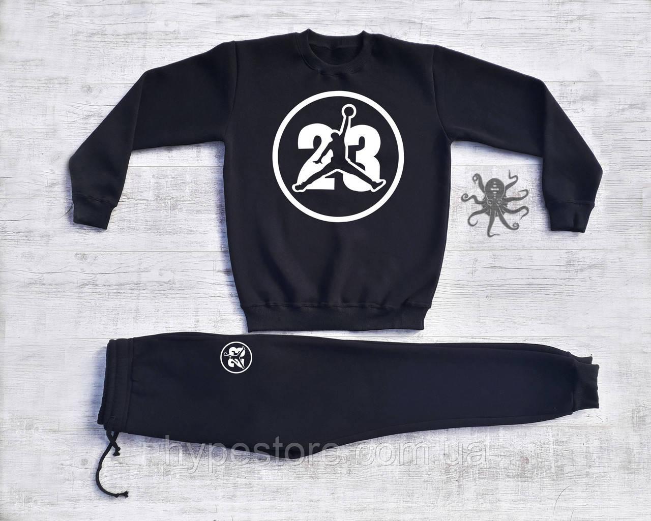Мужской спортивный костюм на флисе Jordan 23, Реплика - Интернет-магазин  обуви, одежды ff74deb5649