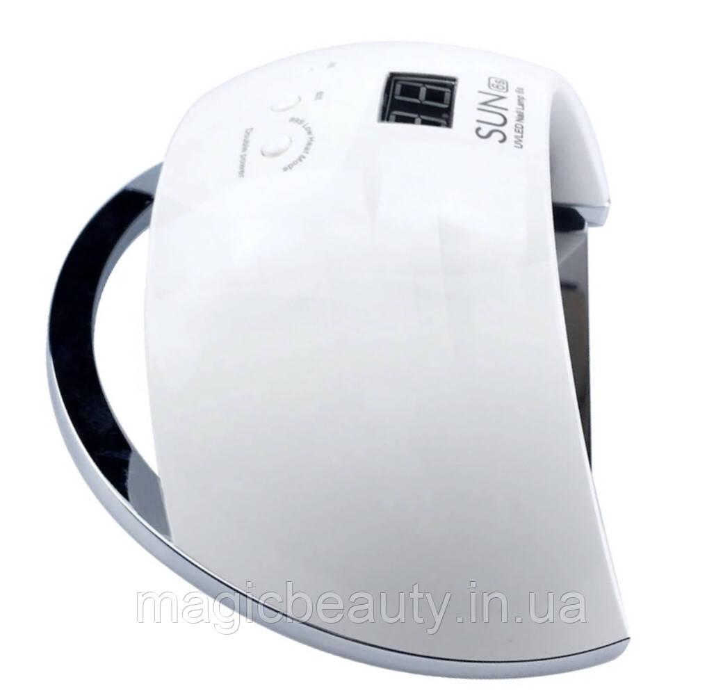 УФ LED лампа светодиодная SUN 6 Smart 48 Вт белая