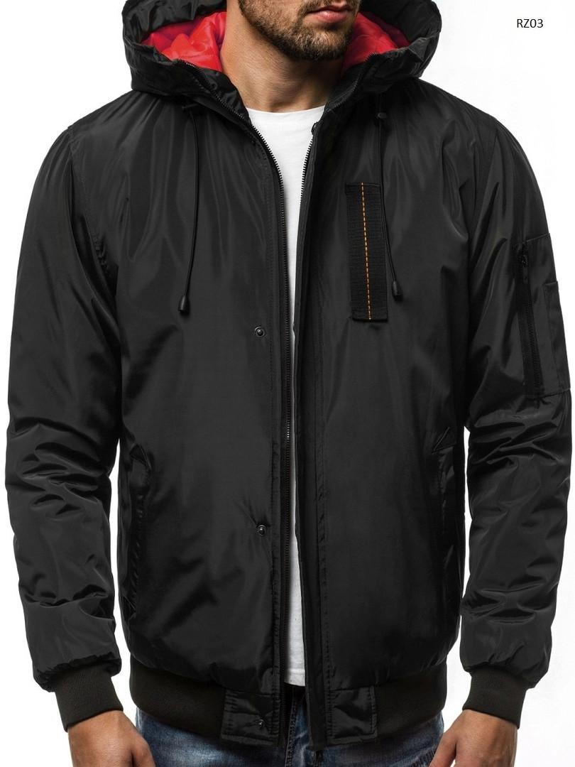 Мужская зимняя куртка J.Style черного цвета