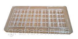Форма для шоколада поликарбонатная 7 плиток