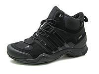 Мужские кроссовки Adidas Terrex Gore-tex  высокие, 2 цвета (осень-евро зима) реплика