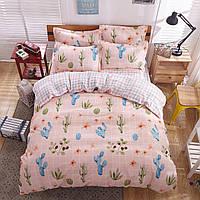 Комплект постельного белья Розовая пустыня (двуспальный-евро)