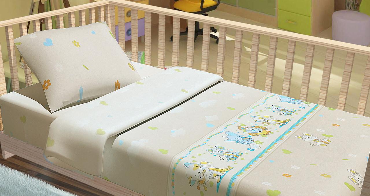 Постельное белье для новорожденный Kidsdream Улыбка.