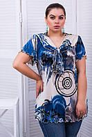 Donna-M Туника с коротким рукавом ЛЕЙЛА синий , фото 1