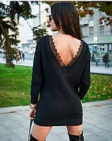 Вязаное платье женское, фото 1