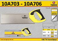 Ножовка для стусла 9TPI,  TOPEX  10A703