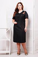 Donna-M Платье с кружевным элементом МИШЕЛЬ черное , фото 1