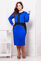 Donna-M Платье с декоративными карманами КЭТТИ электрик , фото 1