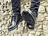 Ботинки мужские кожаные, натуральная кожа