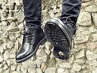 Ботинки мужские кожаные, натуральная кожа, фото 1