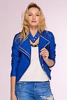 Donna-M Куртка-жакет из искусственной кожи TOP электрик , фото 1