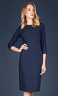 Женское платье Irsina Zaps темно-синего цвета. Коллекция осень-зима 2019