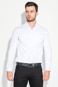 Рубашка мужская классический крой и оттенки 272F045 (Белый)