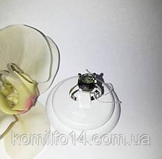 Срібне кільце з натуральним султанитом, фото 2