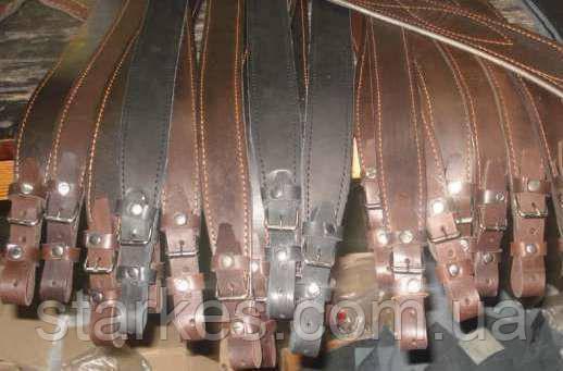 Ремень кожаный на ружье охотничье, для охотников, от 10 штук