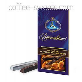 Шоколад Вдохновение 100г Миндаль и трюфельный крем