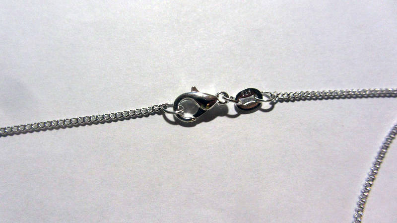 Серебряная цепочка стерлинговое серебро 925 пробы (код 1201)
