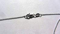 Серебряная цепочка стерлинговое серебро 925 пробы (код 1201), фото 1