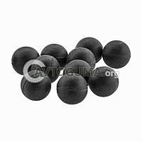 Шарик резиновый с металлом (заготовка под патрон) D 9.5 mm (0.9 g.)