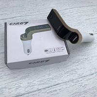FM трансмиттер модулятор Car G7 FM Modulator Bluetooth , фото 1