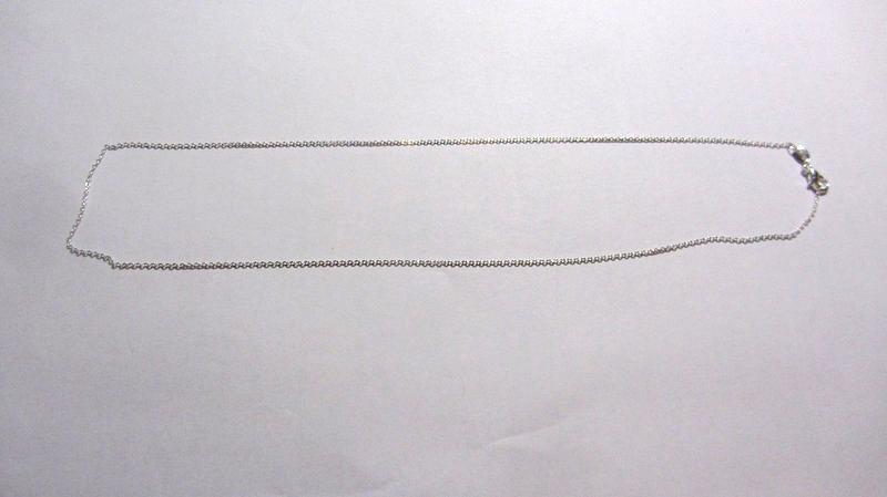 Серебряная цепочка стерлинговое серебро 925 пробы (код 1208)