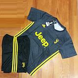 Детская футбольная форма ЮВЕНТУС №7 Роналдо + гетры в подарок, фото 6