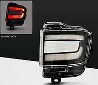 Диодные задние противотуманные Led птф фонари Toyota Land Cruiser LC 200 (15+) белые