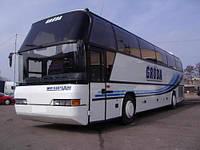 Стекло автобуса лобовое Neoplan 116 нижнее