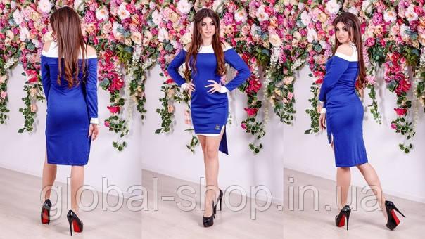 Платье двойка женское мод. 03078 - норма