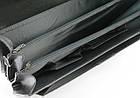 Портфель з еко шкіри Jurom Польща 0-41-111 чорний, фото 10