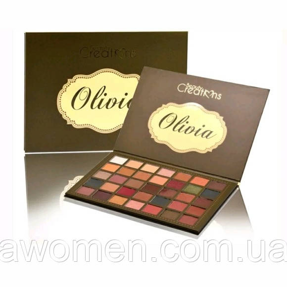 Тени для глаз Beauty Creations OLIVIA 35 цветов