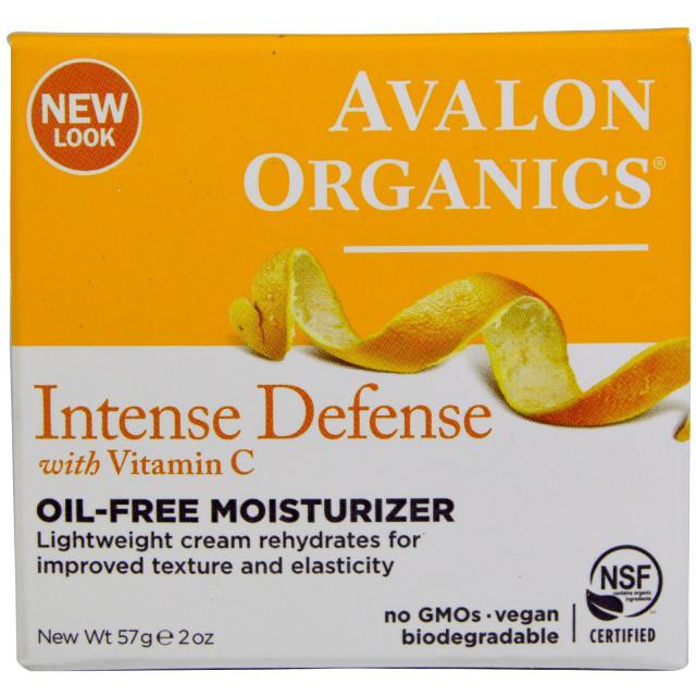 Увлажняющий крем без масел с витамином С, биофлавоноидами лимона и экстрактом белого чая * Avalon Organics (СШ