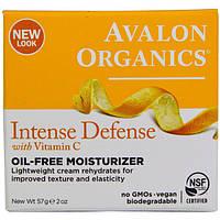 Увлажняющий крем без масел с витамином С, биофлавоноидами лимона и экстрактом белого чая * Avalon Organics (СШ, фото 1