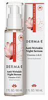 Ночная сыворотка с витамином А против морщин *Derma E (США)*