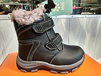 Зимние ботинки для мальчиков BIKI кожа (26-31)