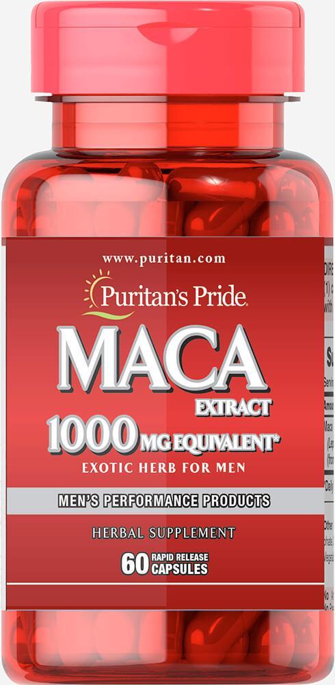 Puritan's Pride Maca 1000 mg Exotic Herb for Men 100 caps