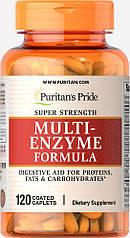 Puritan's pride Super Strength Multi Enzyme 120 (капс.)
